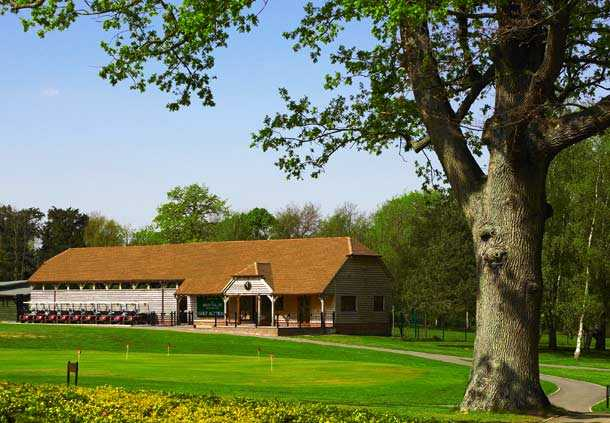 A view of the practice area at Meon Valley Hotel & Country Club