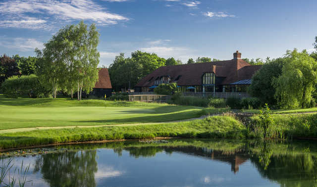 A view of the clubhouse at South Winchester Golf Club