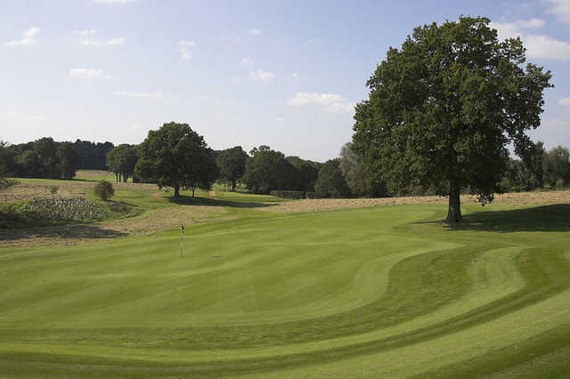 Tylney's large, undualting greens will test your short game
