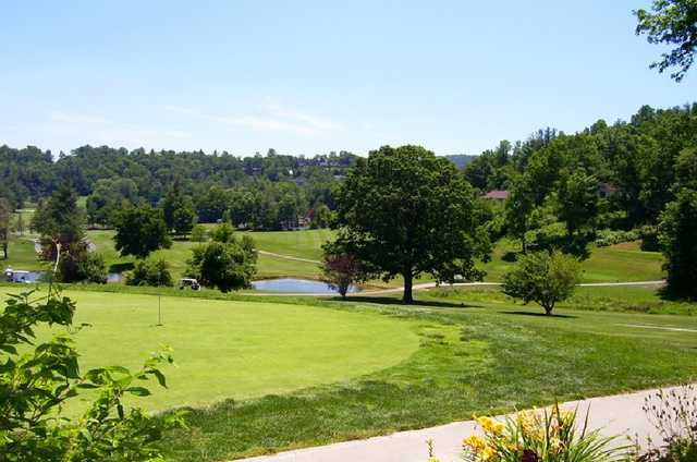 View of the green at Grassy Creek Golf & Country Club