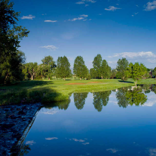 A beautiful view from Coal Creek Golf Course