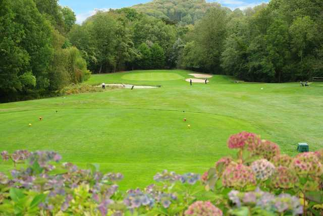 A view from a tee at Herefordshire Golf Club