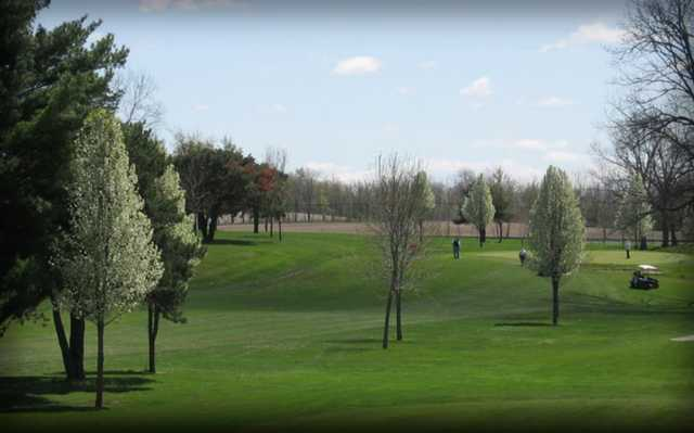 A view from Sycamore Golf Course