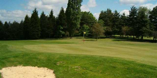 A view of the 6th hole at Knebworth Golf Club.