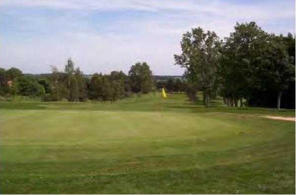 A view of green #4 at Letchworth Golf Club