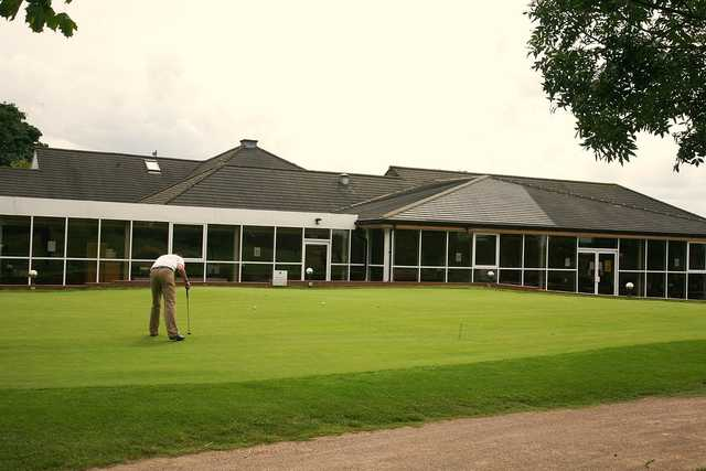 A view of the clubhouse at Manor of Groves Golf  Hotel & Country Club