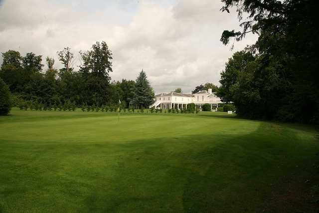 A view of a green at Manor of Groves Golf  Hotel & Country Club