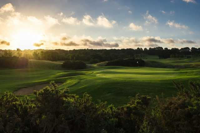 A view of the 8th green at Masters Course from Shire London (Andy Hiseman).