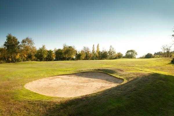 A view of the 13th fairway at Welwyn Garden City Golf Club