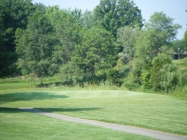 View of the 8th hole at Clifty Creek Golf Course