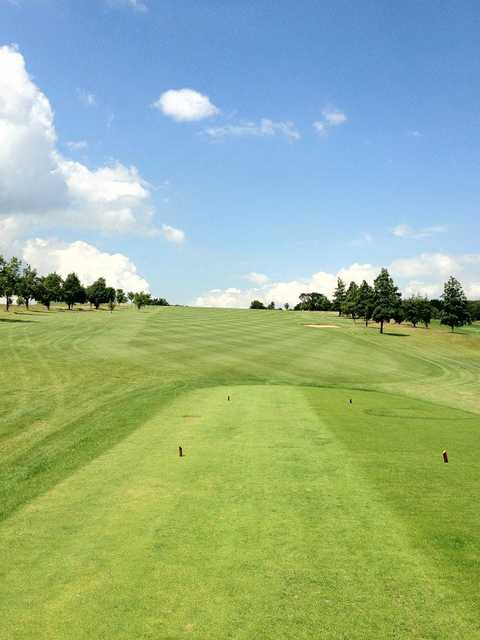 A view from tee at Whitehill Golf Club