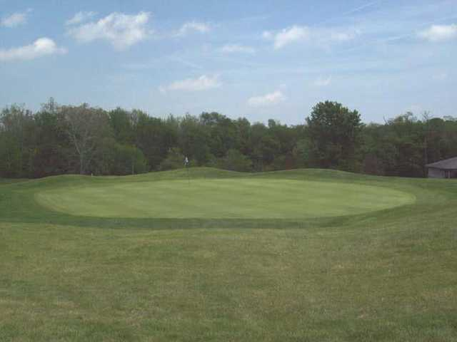 View of the 6th green at Stillwater Valley Golf Club