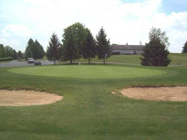 View of the 9th hole at Stillwater Valley Golf Club