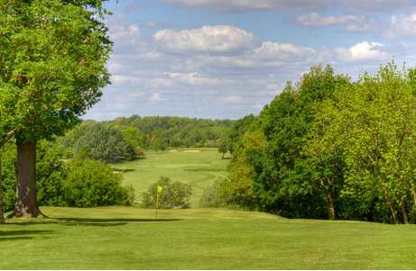 A view from fairway #10 at Bearsted Golf Club
