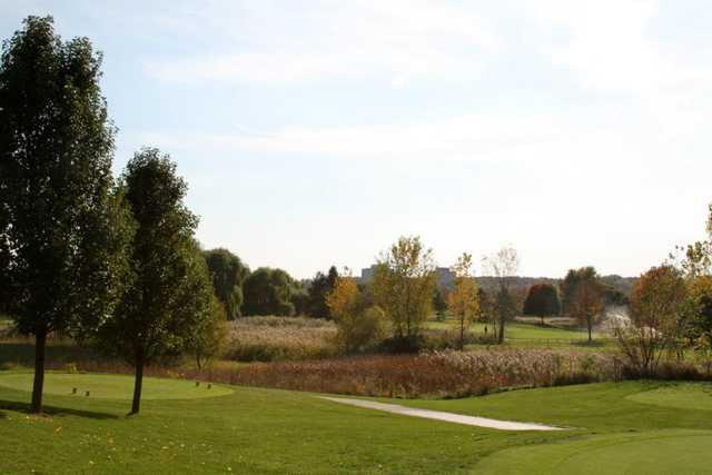 A view from River Bend Golf Course