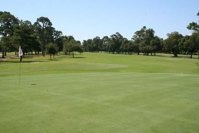View of the 9th green from Oaks course at Fort Walton Beach Golf Club