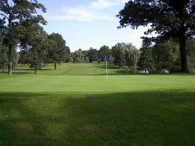 View from the 17th hole at Beechwood Golf Course