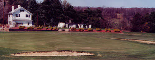 View of a green at Cabin Greens Golf Course