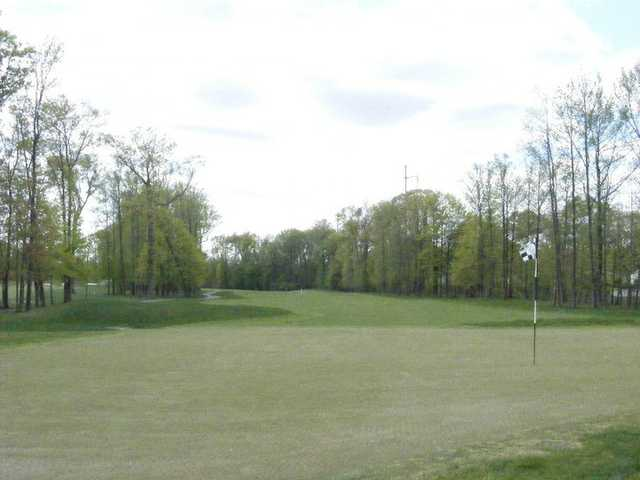 View of a green at Hyatt Hills Golf Complex