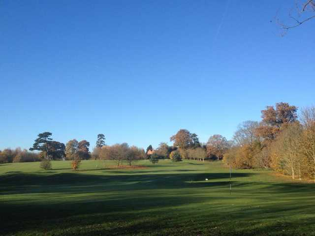 A view from Cobtree Manor Park Golf Course