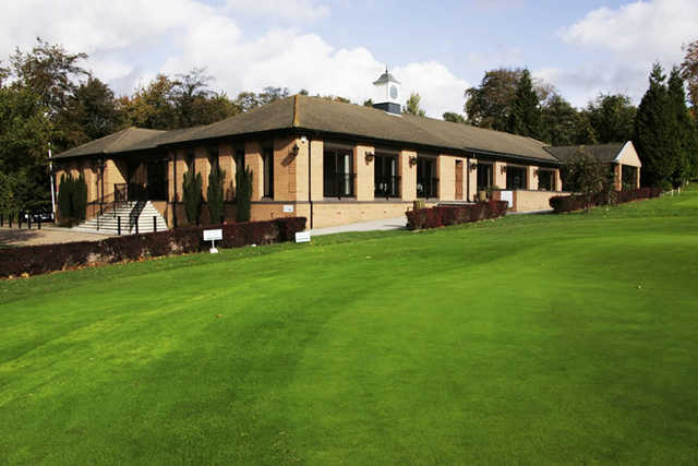 A view of the clubhouse at Darenth Valley Golf Club