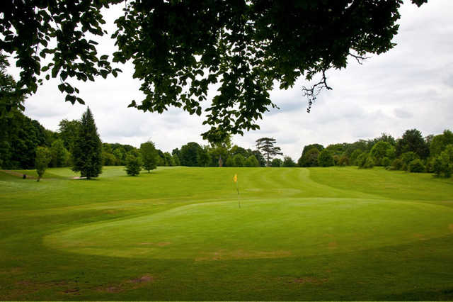 A view of a green at Darenth Valley Golf Club