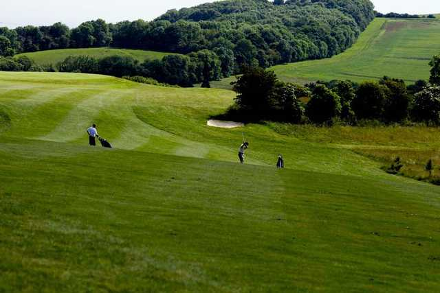 A view of fairway at Etchinghill Golf Club