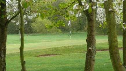 A view of the 8th hole at Corinthian Sports Club