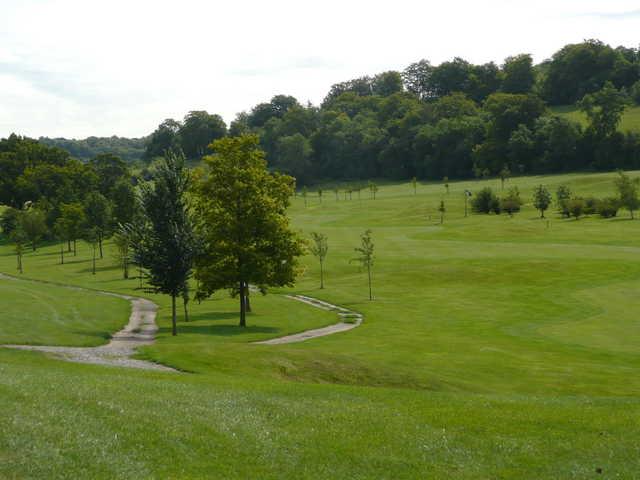 A view of fairway at High Elms Golf Club