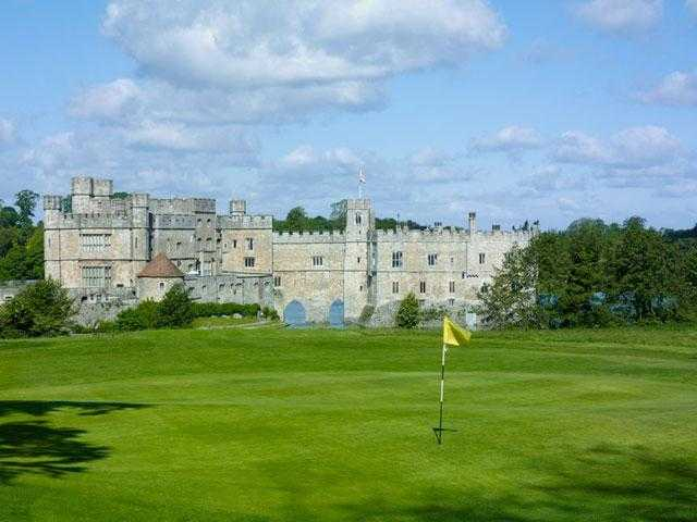 A view of a green at Leeds Castle