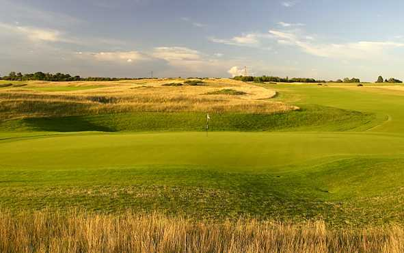 A view of hole #18 at International Course from London Golf Club