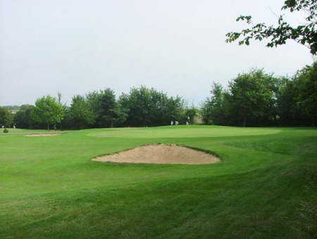 A view of the 1st green at St Augustines Golf Club