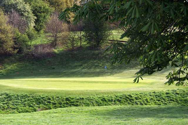 A view of hole #5 at Spitfire Course from West Malling Golf Club