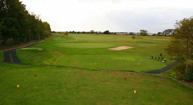 A view from tee at Whitstable & Seasalter Golf Club