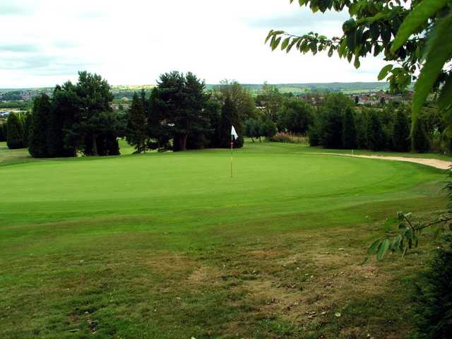 9th hole at Accrington & District Golf Club