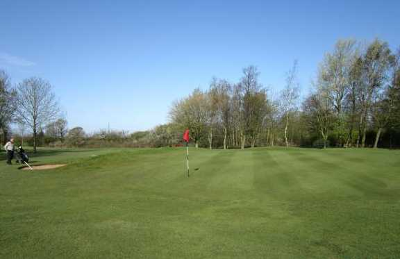 A view of the 5th hole at Ashton & Lea Golf Club
