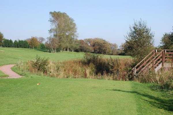 A view from tee #9 at Ashton & Lea Golf Club