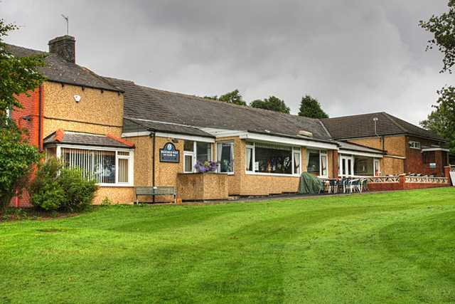 A view of the clubhouse at Baxenden & District Golf Club