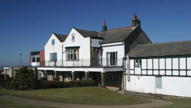 A view of the clubhouse at Burnley Golf Club