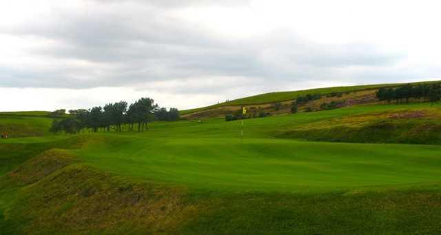 A view of a green at Darwen Golf Club