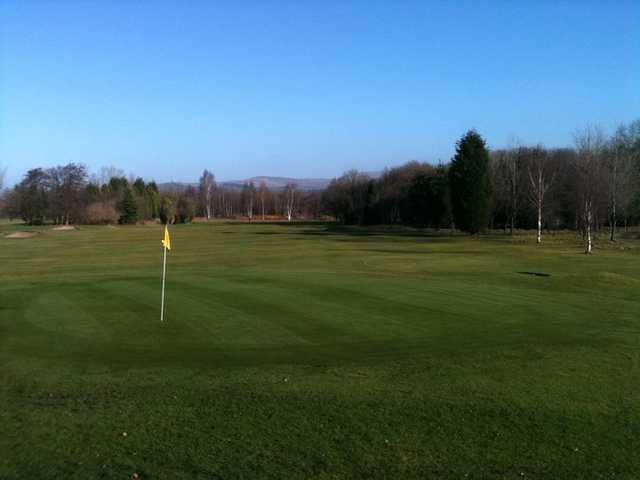A view of a hole #3 at Great Harwood Golf Club