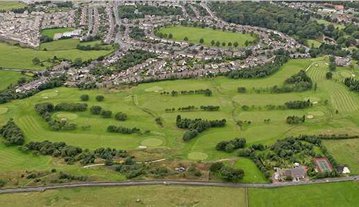 Aerial view of Marsden Park Golf Club