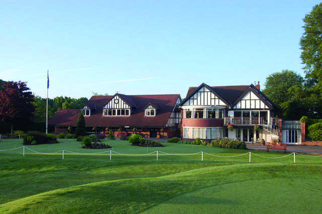 A view of the clubhouse at Preston Golf Club