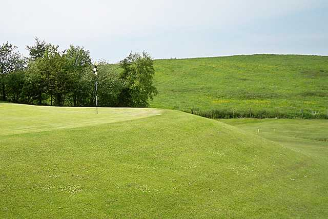 A view of the 1st hole at Rishton Golf Club