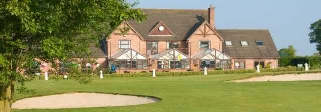 The grand clubhouse at Forest Hill Golf & Country Club