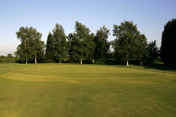A view of the 12th green at Kibworth Golf Club