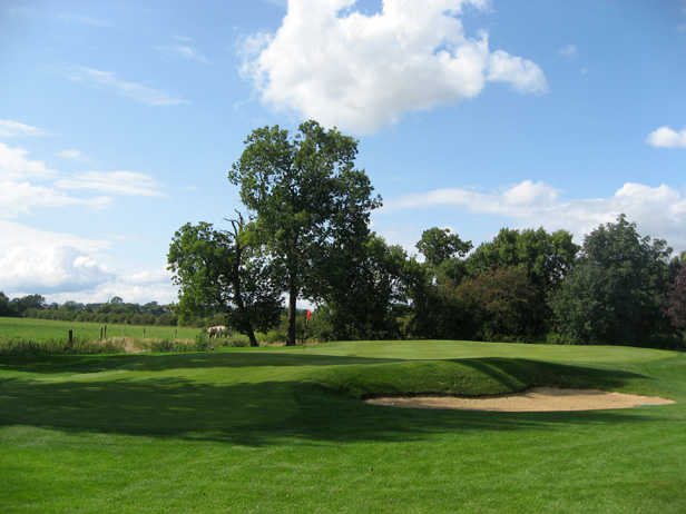 A view of hole #15 at Kibworth Golf Club