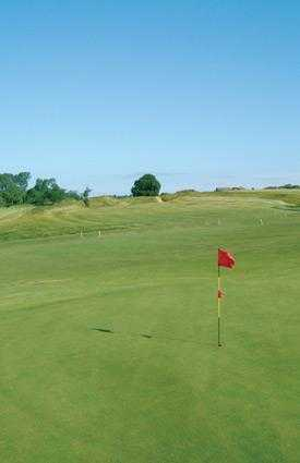 A view of the 16th hole at Kilworth Springs Golf Club