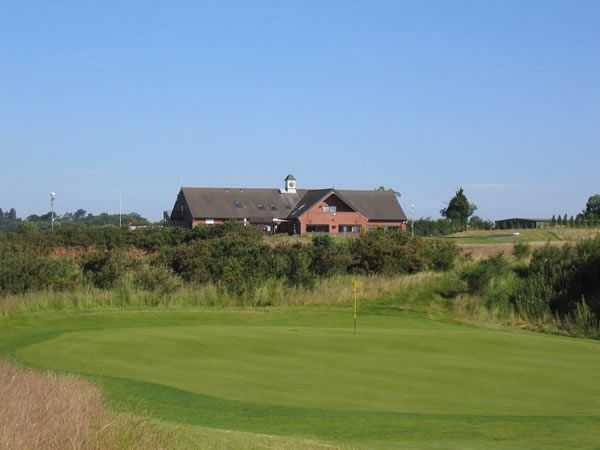 View looking over to the clubhouse across one of Kilworth Springs immaculate greens