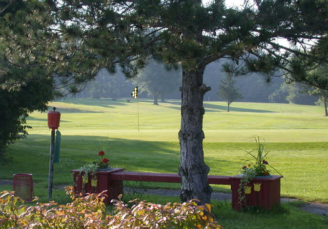 View of the 18th hole at Green Acres Golf Course